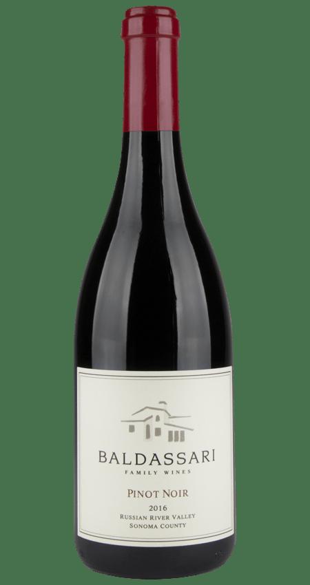 94 Pt. Baldassari Family Wines Russian River Valley Pinot Noir 2016