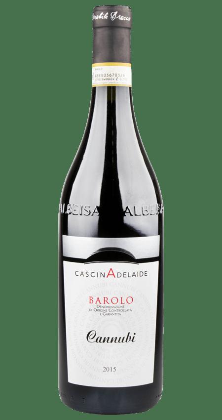 95 Pt. Cascina Adelaide Barolo Cannubi 2015