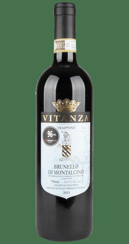 96 Pt. Vitanza Brunello di Montalcino 2015