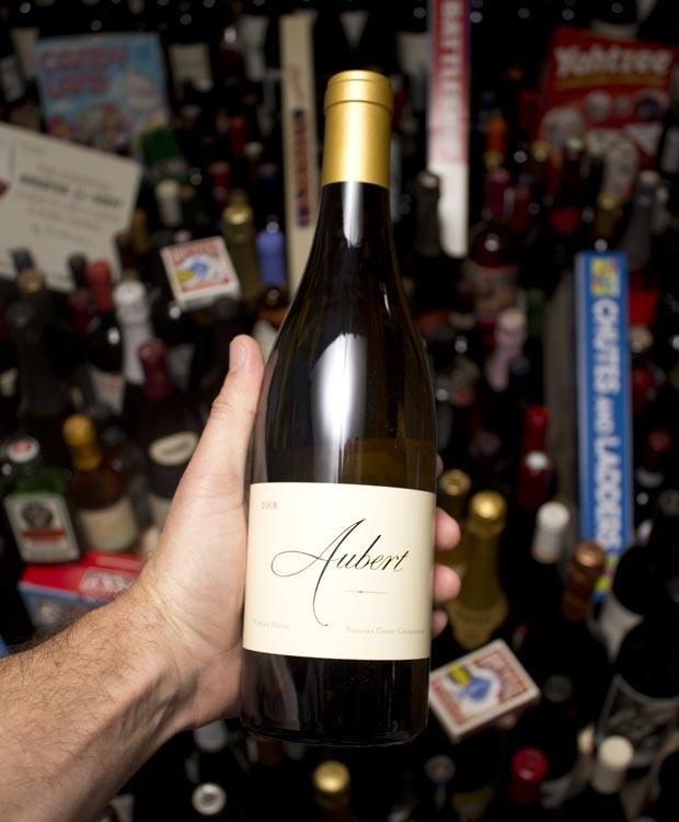 Aubert Chardonnay Powder House Somona Coast 2018