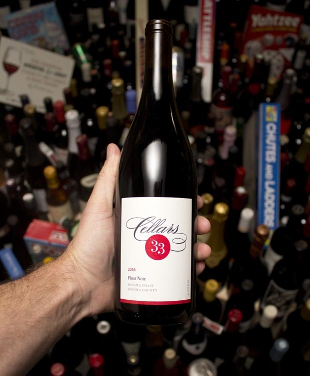 Cellars 33 Pinot Noir Sonoma Coast 2016