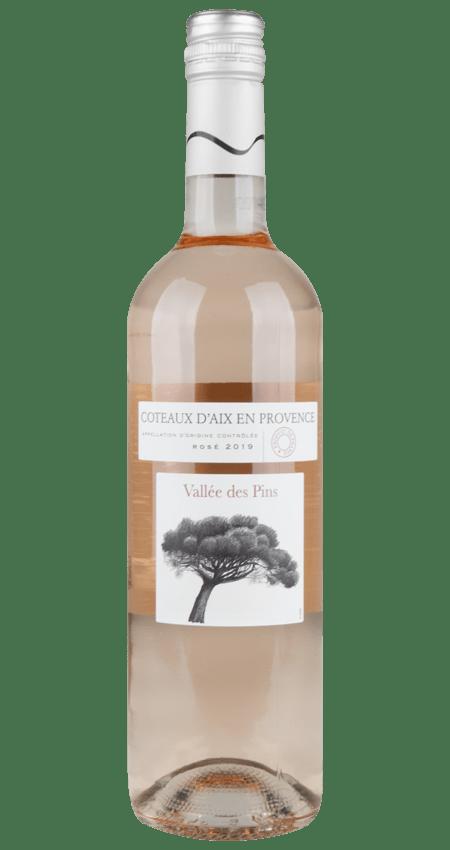 Coteaux d'Aix en Provence Rosé 2019 Vallée des Pins