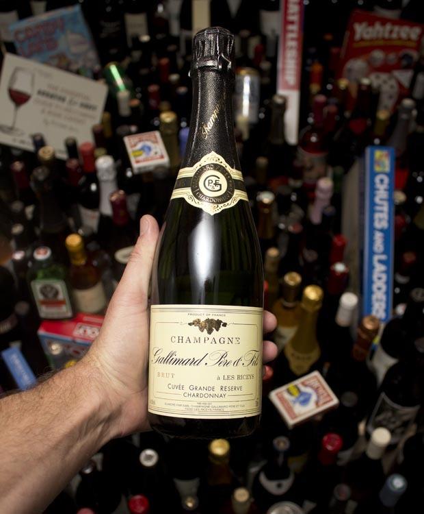 Gallimard Champagne Grande Reserve Chardonnay Les Riceys  NV