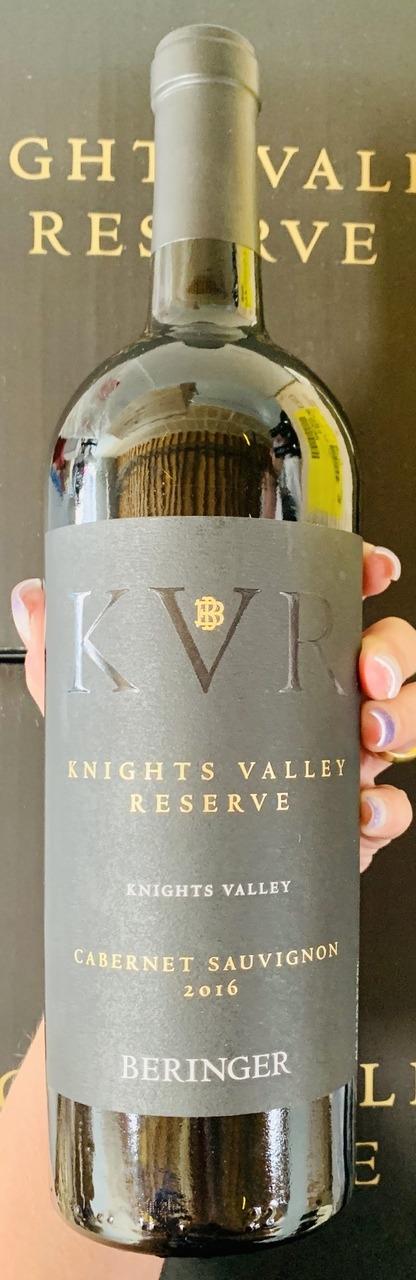 2016 Beringer Knights Valley Reserve Cabernet (96JS/94JD)