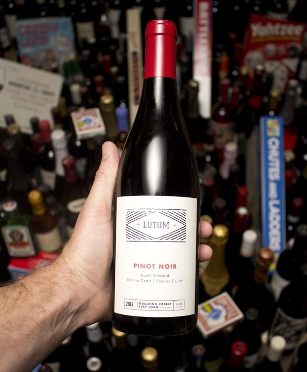 Lutum Pinot Noir Durell Vineyard 2013