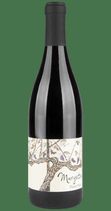 Maryetta Wines Anderson Valley Pinot Noir Black Hoop 2018