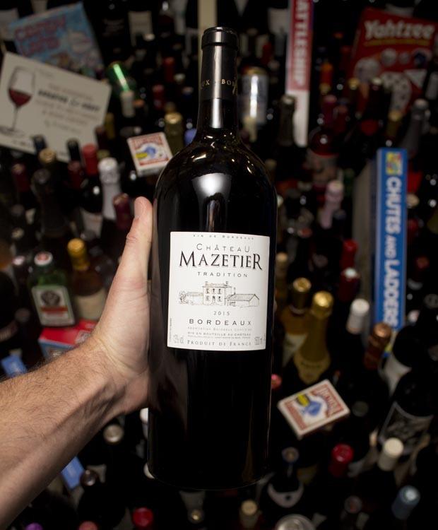Mazetier Tradition Bordeaux Rouge 2015 (MAGNUM)