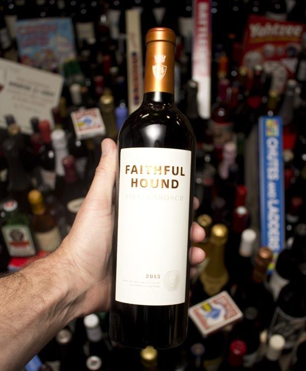 Mulderbosch Vineyards Faithful Hound Stellenbosch Red Blend 2015