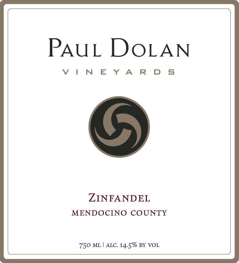 Paul Dolan Vineyards Organically Grown Zinfandel 2018