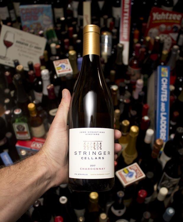 Stringer Chardonnay John Sebastiano Vineyard Santa Rita Hills 2017