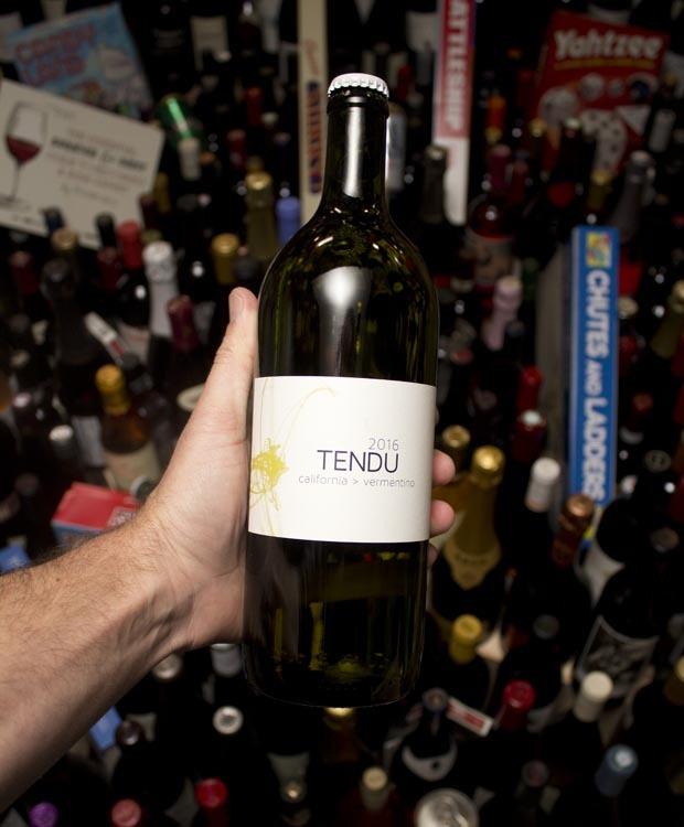 Tendu Vermentino California White Wine 2016 (1 Liter)