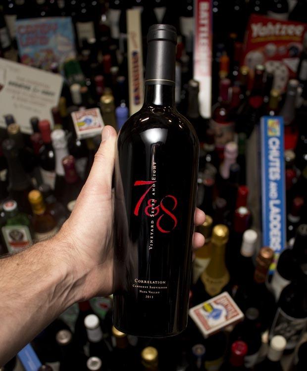 Vineyard 7&8 Cabernet Sauvignon Correlation 2013