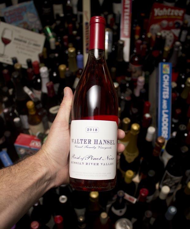 Walter Hansel Winery Rose of Pinot Noir  2018