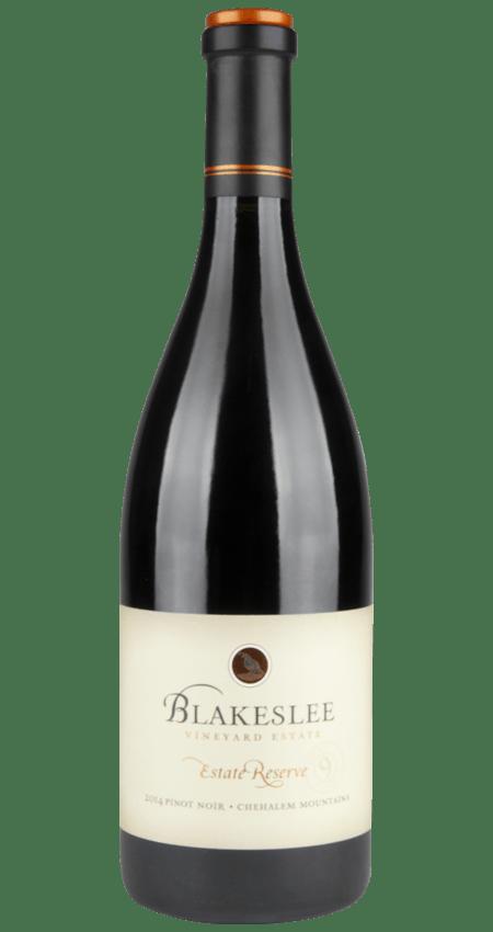 Willamette Valley Pinot Noir Estate Reserve 2014 Blakeslee Vineyard