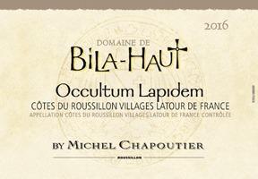 2016 Chapoutier Domaine de Bila-Haut Occultum Lapidem