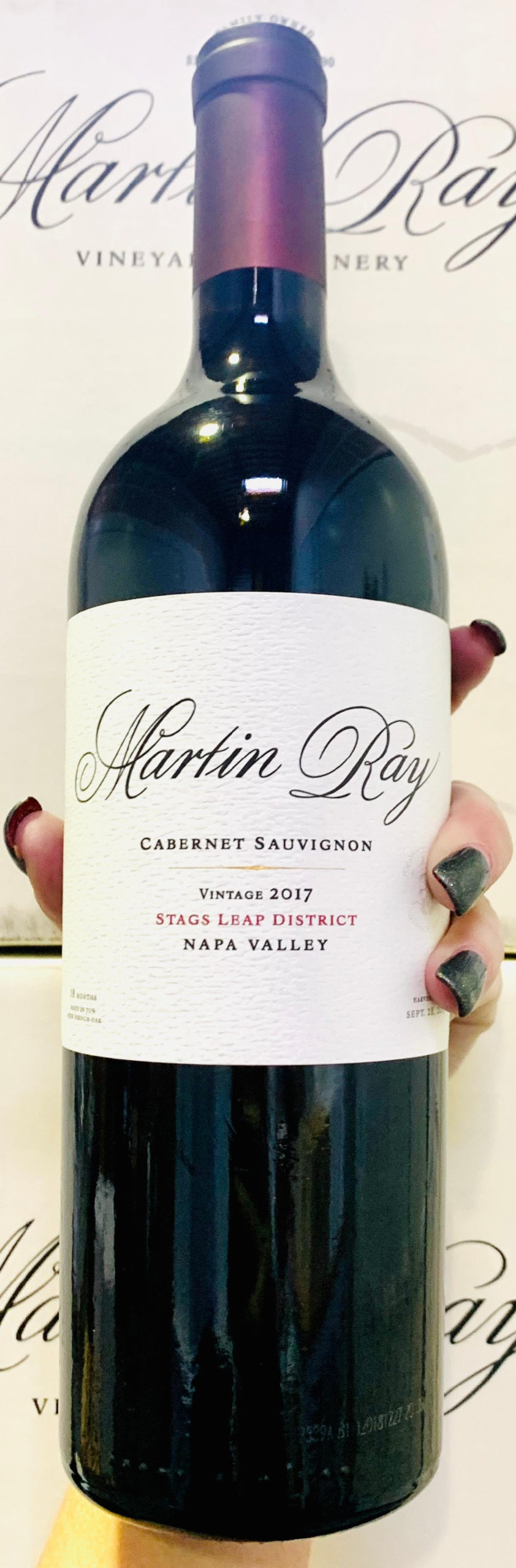 2017 Martin Ray Stags Leap District Cabernet