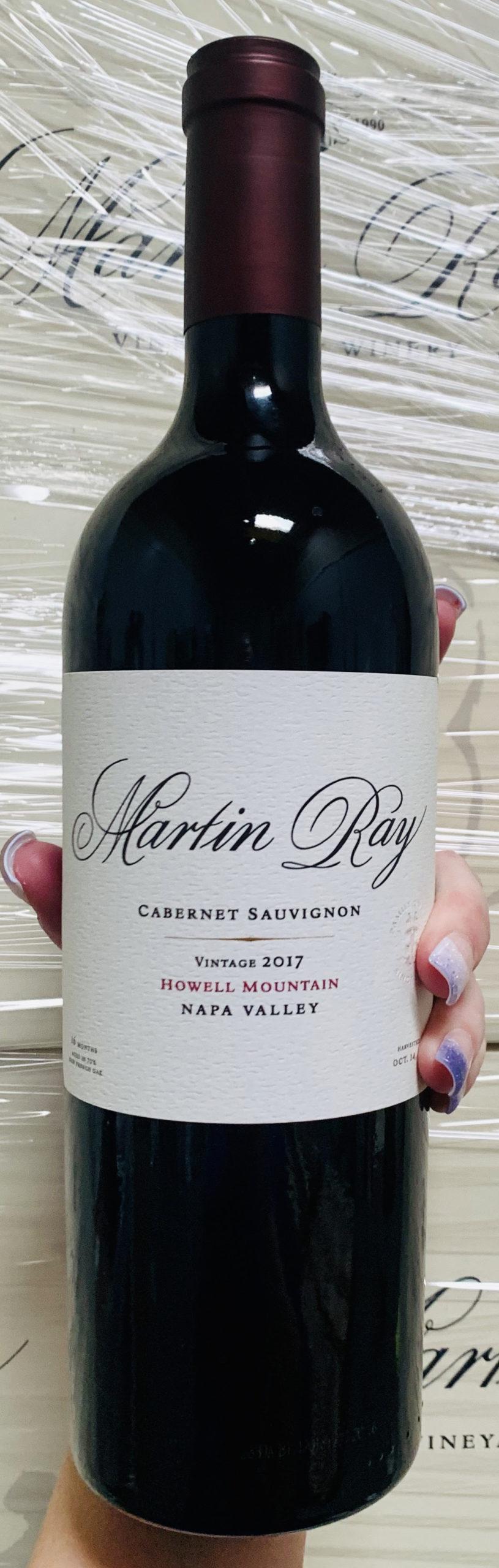2017 Martin Ray Howell Mountain Cabernet