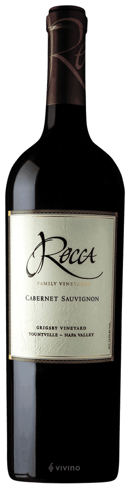 Rocca Family Vineyards Grigsby Vineyard Cabernet Sauvignon 2014