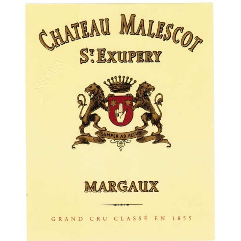 2015 Chateau Malescot St. Exupery Margaux