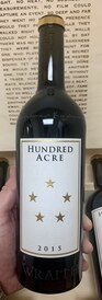 2013 Hundred Acre Wraith Napa Valley Cabernet (100RP)