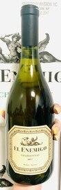 2017 El Enemigo Chardonnay (98JS/95TA)