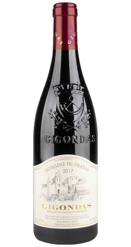 93 Pt. Domaine du Pradas Gigondas 2017