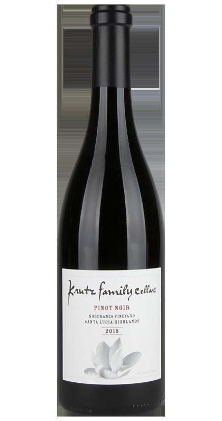 94 Pt. Krutz Family Soberanes Vineyard Pinot Noir Santa Lucia Highlands 2015