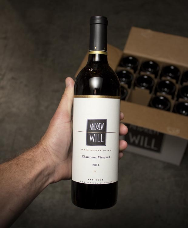 Andrew Will Proprietary Red Champoux Vineyard 2014