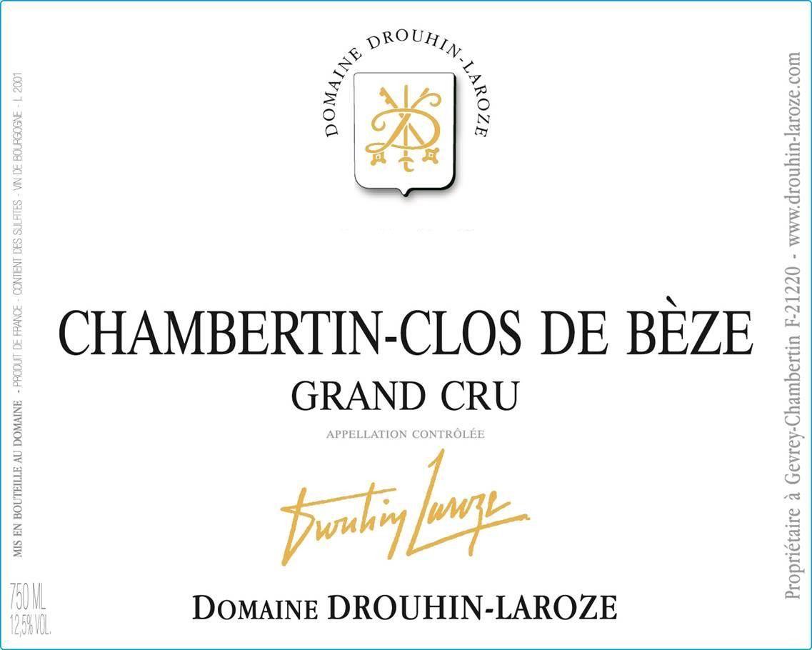Domaine Drouhin-Laroze Chambertin-Clos de Beze Grand Cru 2014
