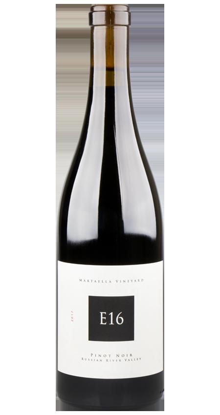 E16 Russian River Valley Pinot Noir Martaella Vineyard 2017
