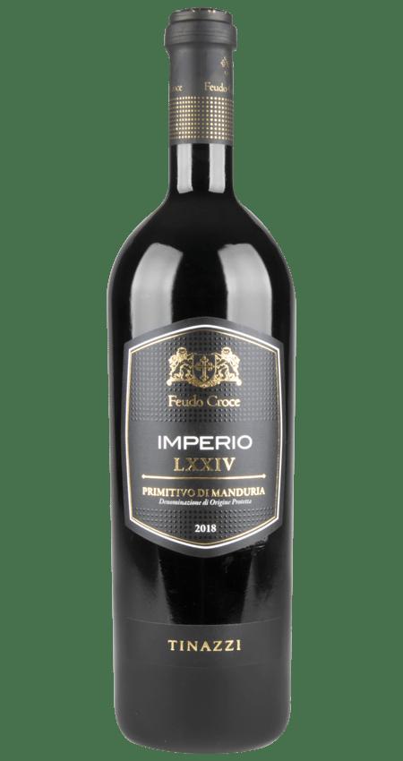 Feudo Croce Primitivo di Manduria DOP 2018 Imperio by Tinazzi