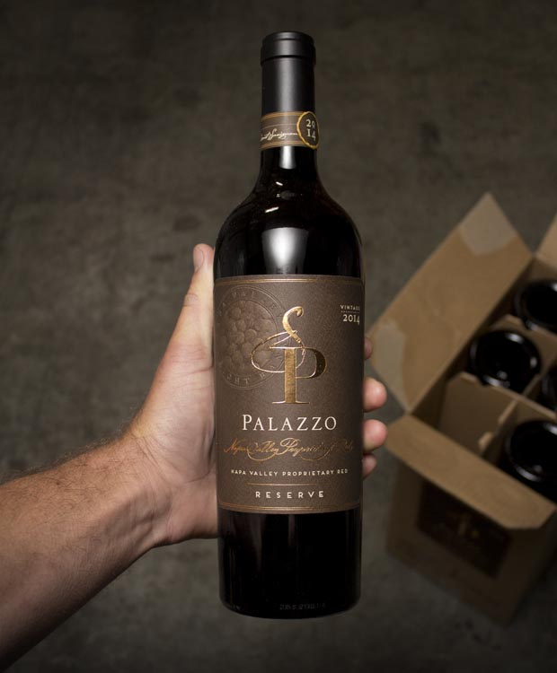 Palazzo Proprietary Red  Right Bank Reserve Napa Valley 2014