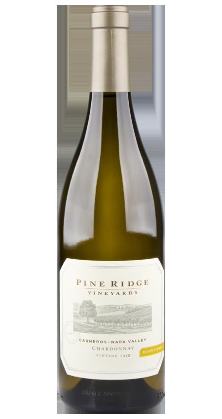 Pine Ridge Dijon Clones Chardonnay Carneros 2018