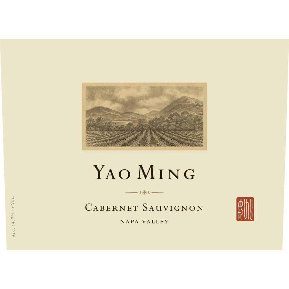 Yao Ming Napa Valley Cabernet Sauvignon 2014