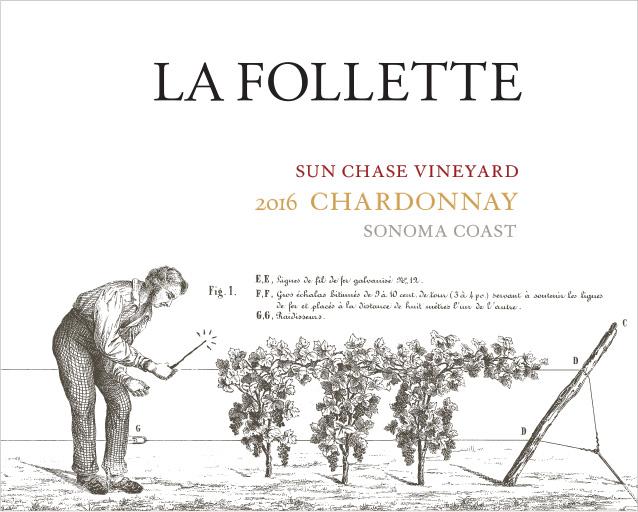 2017 La Follette Chardonnay Sun Chase Vineyard