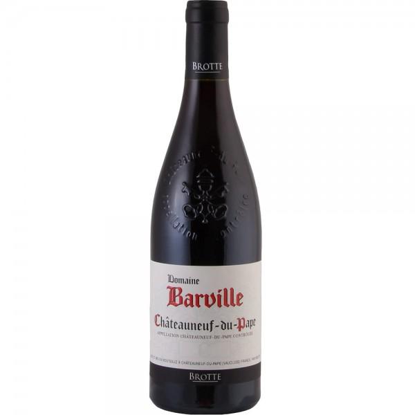 Brotte Châteauneuf-du-Pape Domaine Barville Rouge 2016