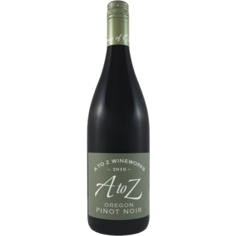 2016 A To Z Wineworks Pinot Noir
