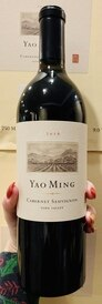 2016 Yao Ming Napa Valley Cabernet (95WE/93RP)