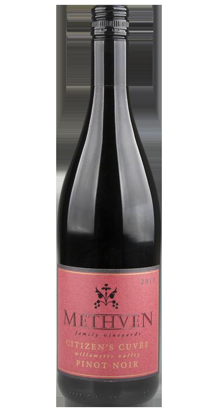 91 Pt. Methven Citizen's Cuvée Willamette Valley Pinot Noir 2015