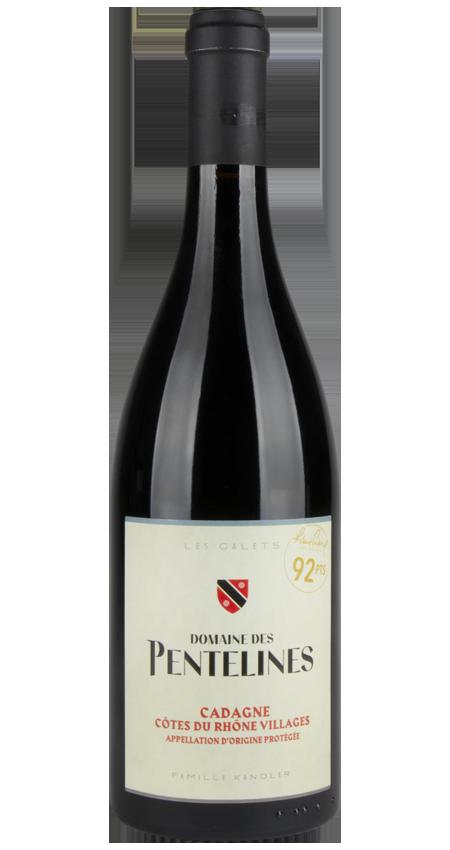 92 Pt. Domaine de Pentelines Côtes du Rhône Villages 2016