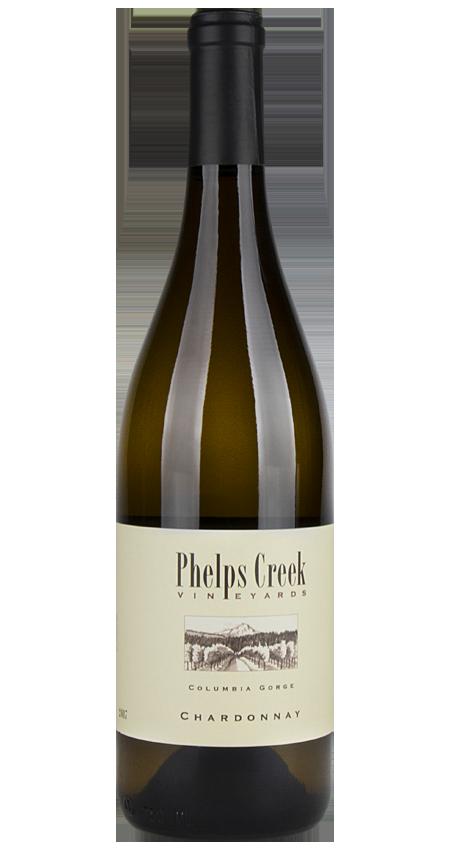 93 Pt. Phelps Creek Chardonnay 2017 Columbia Gorge Oregon