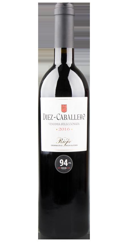 94 Pt. Diez-Caballero Rioja Vendimia Seleccionada 2016