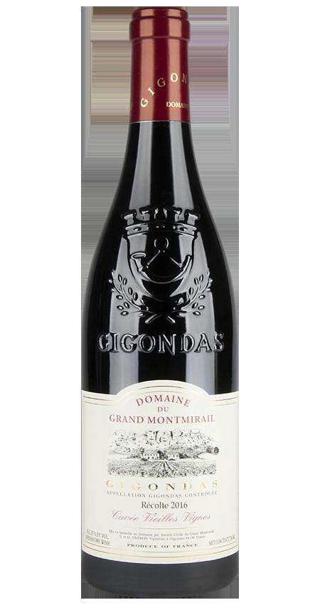 95 Pt. Domaine du Grand Montmirail Gigondas Vieilles Vignes 2016