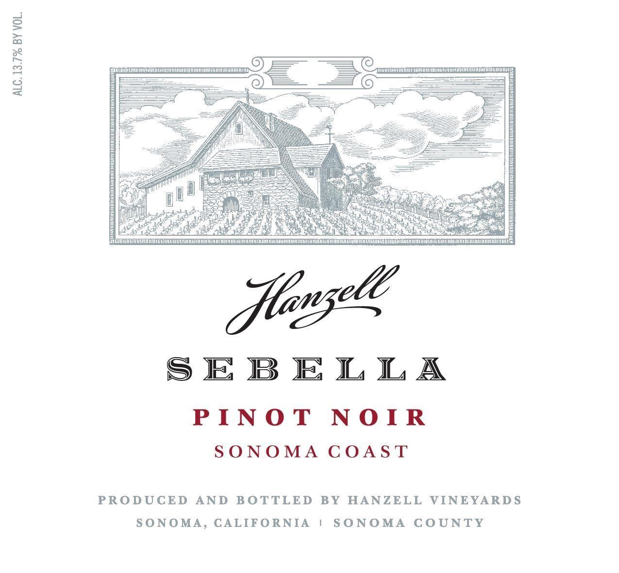 Hanzell Sebella Pinot Noir 2018