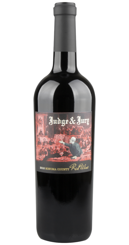 Judge and Jury Sonoma Red Blend 2018
