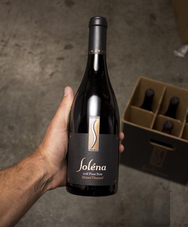 Solena Pinot Noir Hyland Vineyard 2018