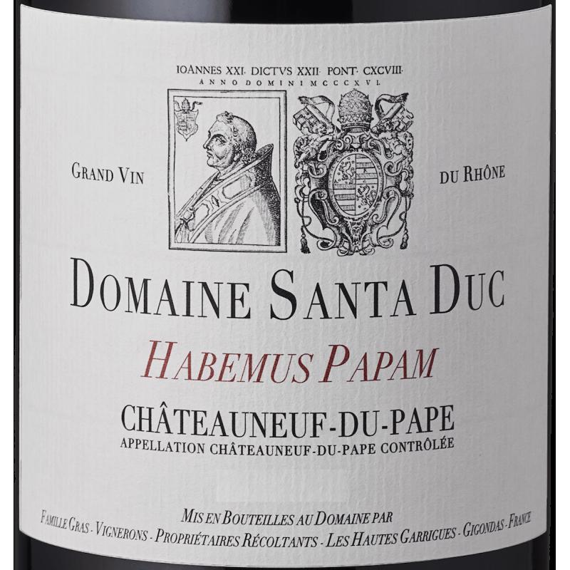 Santa Duc – Habemus Papam Chateauneuf du Pape 2016