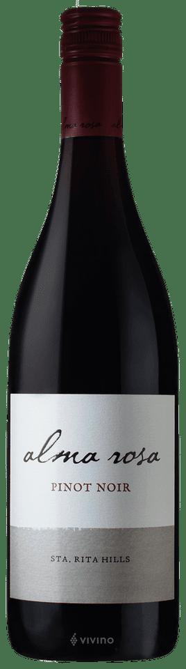 Alma Rosa Pinot Noir Santa Rita Hills 2016