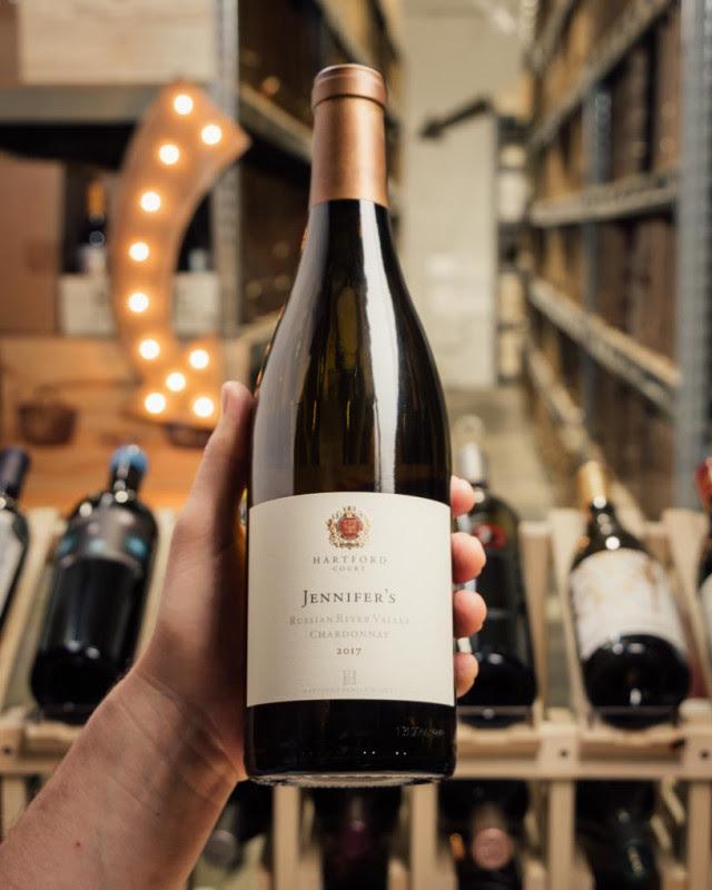 Hartford Court Chardonnay Jennifer`s Vineyard Russian River Valley 2017