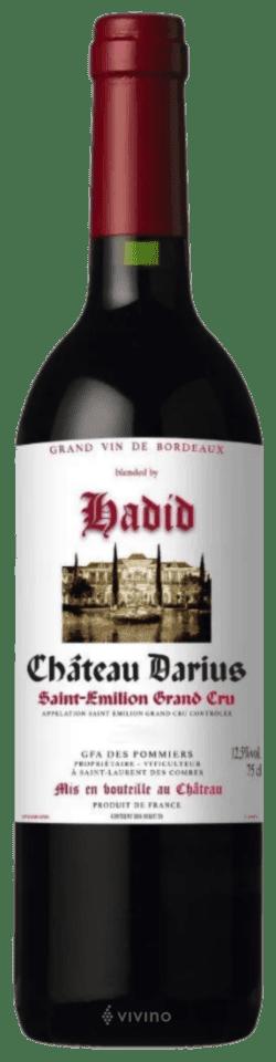 Château Darius Hadid Saint-Émilion Grand Cru 2016